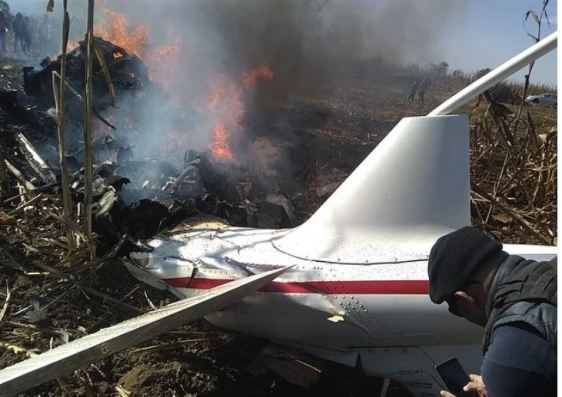 Martha Erika Alonso and her husband Rafael Moreno Valle Rosas were killed when their aircraft crashed