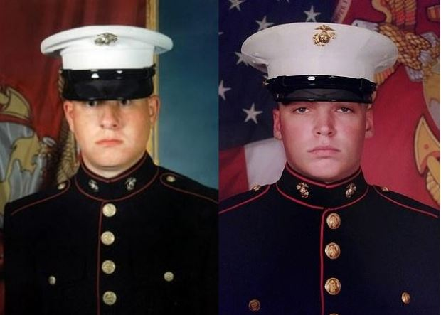 Sgt. Jeremy R. McQueary, 27, (left) and Lance Cpl. Larry M. Johnson 1
