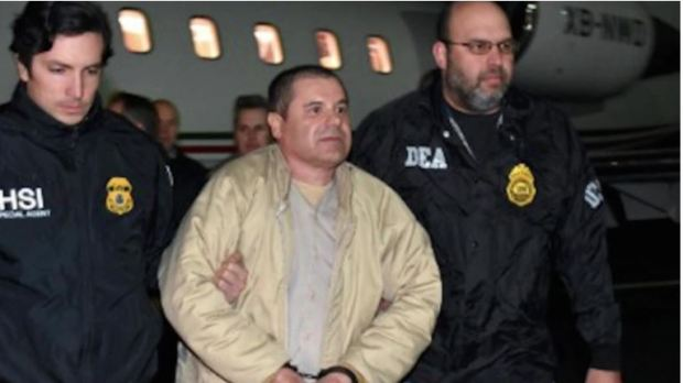 Joaquin El Chapo Guzman's extradited to US in 2017