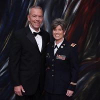 My 'ex was a violent cheat' says Republican senator Joni Ernst after she's accused of cheating on her husband with a soldier, 'lying out nude on the patio' and dating men in D.C. while she was married