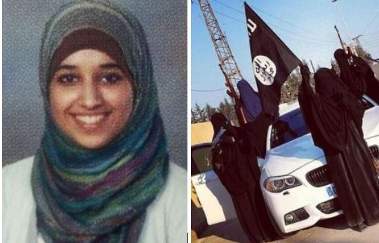 Remorse or Convenience? American ISIS bride who called for terror attacks at Memorial Day parades and has married three jihadi fighters claims 'I made a big mistake' - Begs the US to let her back to Alabama