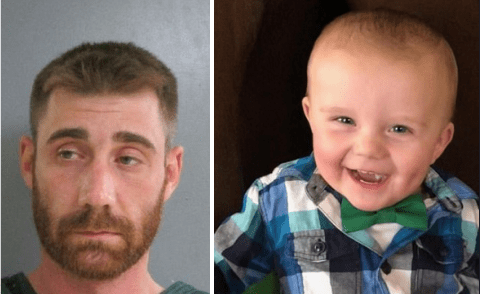 'Worst dad in the world!' Michael Christopher Glance, 32, shot two-year-old son in the face during a heated argument with toddler's mom, leaving the child in a critical condition and 100 stitches, after five surgeries