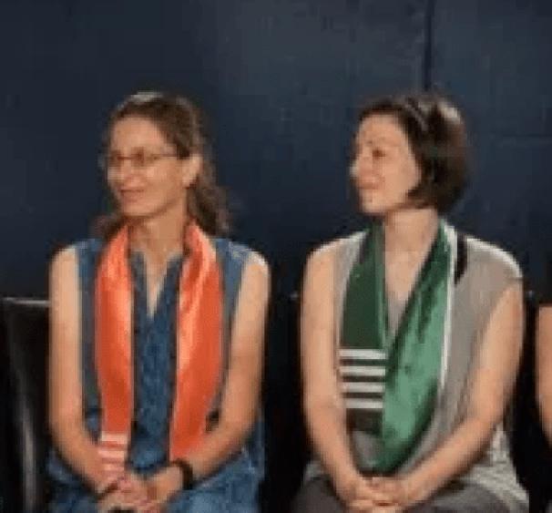 Clare Bronfman [left] and Lauren Salzman 1