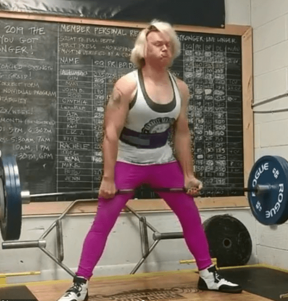 Champion trans powerlifter is stripped of titles – Governing
