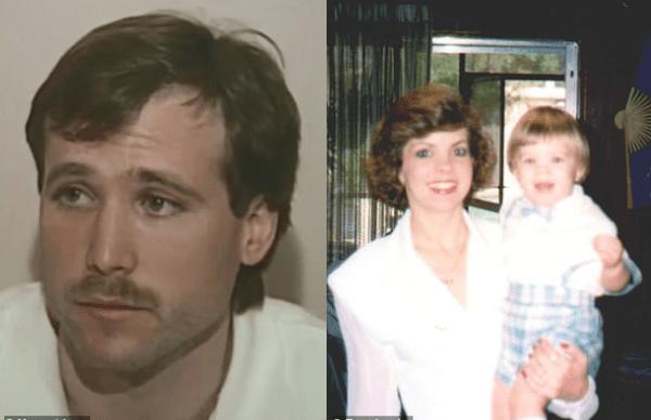 Michael Haim [left] with his wife Bonnie Haim and their son Aaron Fraser 3