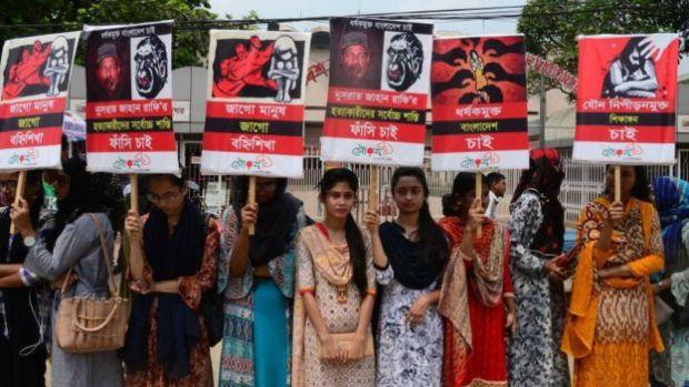Protesters seek justice for Nusrat Jahan Rafi 2
