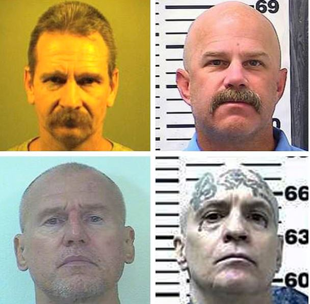 Kevin McNamara (top left), William Sylvester, (top right), Daniel Troxell, (bottom left), and Ronald Yandell (bottom right) 1
