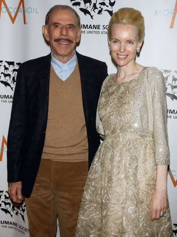 Mary Max [right], with husband Peter Max [left] 4