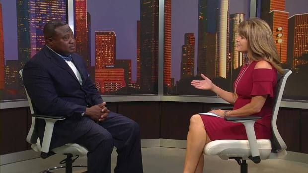 Quanell X stopped on FOX 26 Houston