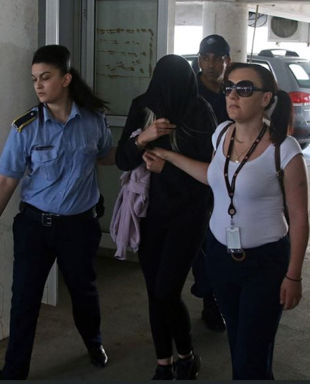 Fake rape accuser arrives in court in Cyprus on July 29 7