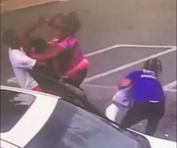 Karen Lashun Harrison fight scene 3