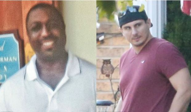 Eric Garner [left], and Daniel Panteleo [right], 1.JPG