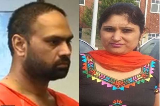Guepreet Singh [left] killed his wife Shalinder Kaur [right] 1