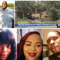 Triple murder-suicide in Atlanta; Gunman kills two women and a man in the driveway of an Atlanta house during an argument before driving home and killing himself