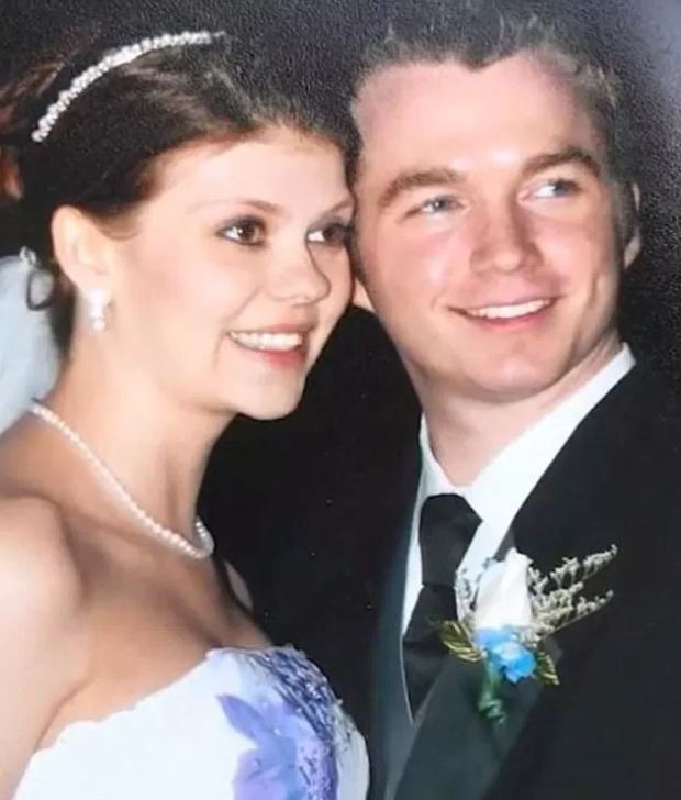 Keith Comfort and his wife, Megan Nicole Shultz 2