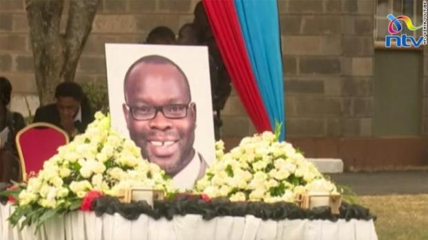 Ken Okoth funeral 1