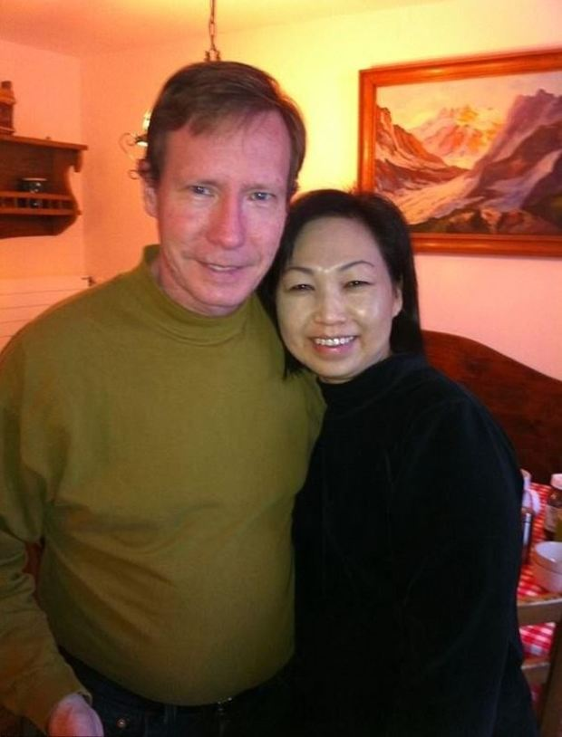 Peter Chadwick [left], and his wife of 21 years, Quee Chadwick. aka Q.C 1