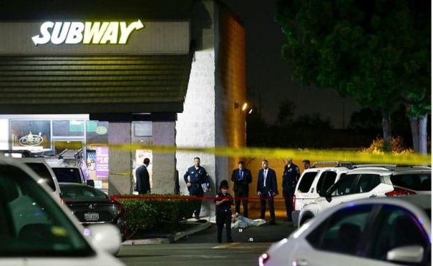 Quadruple murderer killed a man at this Subway