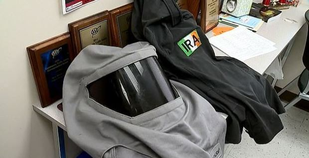 Tactical gear found in wix's home