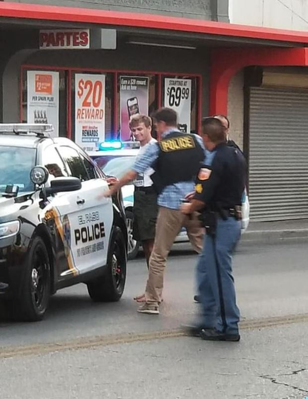 Thomas Bartram arrest 2