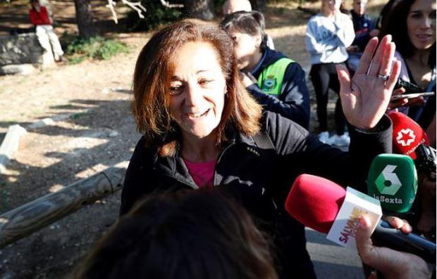 Blanca Fernandez Ochoa's sister Dolores 1