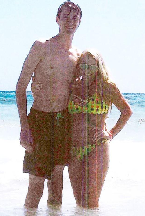 Brooke Skylar Richardson and her boyfriend, Brandon Saylor 2.JPG