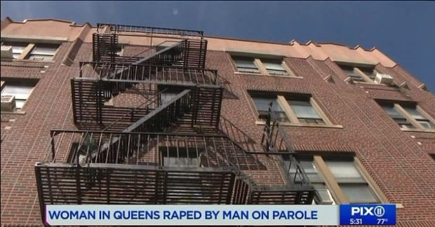 Joshua Henderson was said to have entered the woman's home via an unlocked fire escape window 1