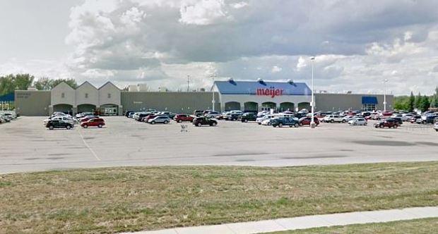 Meijer department store (above) in Hampton Township, Michigan 1