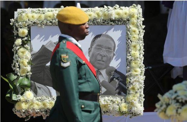 Robert Mugabe funeral 10