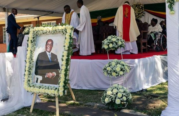 Robert Mugabe funeral 8