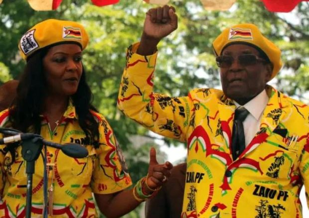Robert and Grace Mugabe 5