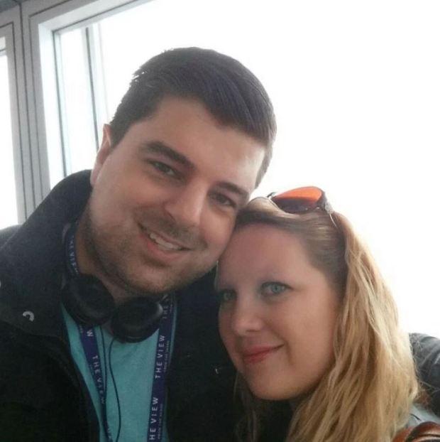 Shaun May and Laura May 2