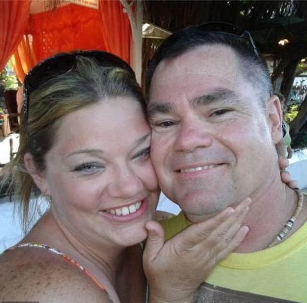 Tammy Hatcher Scheller and her husband Michael Scheller 1