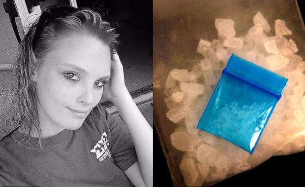 Ashley Beth Roland and her Meth bust 1