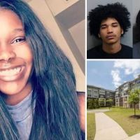 Murdered Atlanta student, Alexis Crawford, 21, filed a police report about 'unwanted touching and kissing' by  Barron Brantley, her roommate's boyfriend three days earlier, as the pair are charged with murder