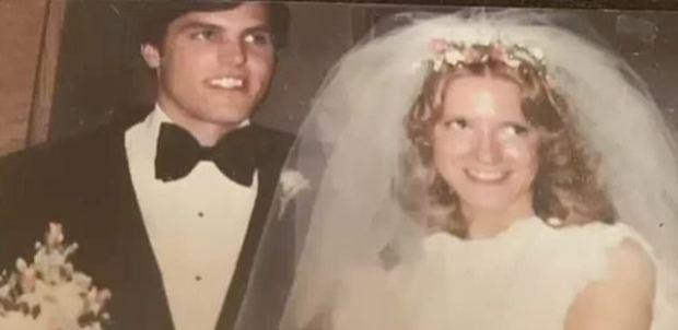 James Krauseneck and Cathleen Krauseneck on their wedding day 1