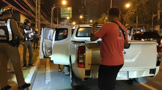 Police carry out searches in Pattaya, Thailand after Bart Allan Hemus and his group staged a violent escape from a courtroom 1.jpg