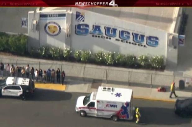 Shooting at  Saugus High School on Centurion Way in Santa Clarita, Calif. 1.jpg