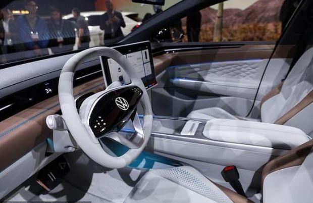 Volkswagen ID Space Vizzion interior shot 2