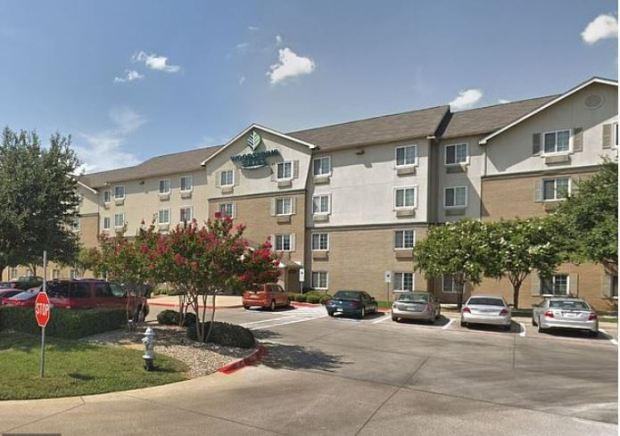 WoodSprings Suites motel, Dallas Texas.JPG