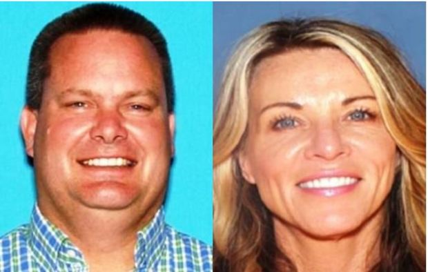 Chad Daybell, [left], and his wife Lori Vallow, [right] 1