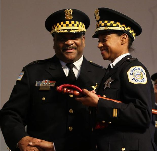 Eddie Johnson, and his wife,  Lt. Nakia Kenner 3.JPG