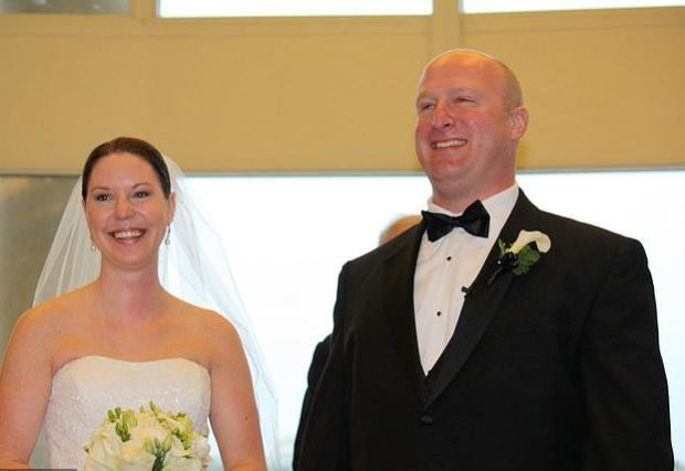 Erin Pascal with her husband, Adam, on their wedding day 6.JPG