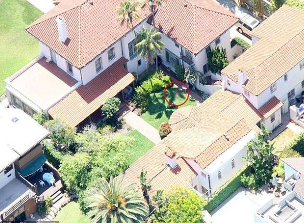Jonah Shacknai;s home, aerial  shot.JPG