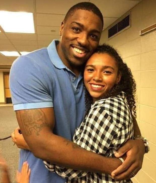 Walt Harris and his daughter Aniah Blanchard 1