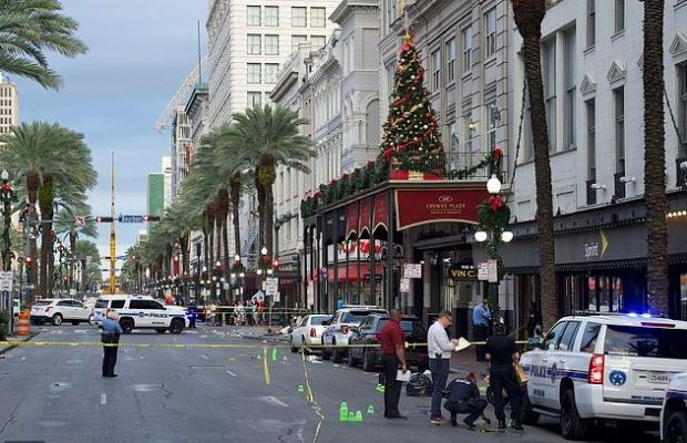 Weekend shooting rampage in New Orlean's French Quarter 7.JPG