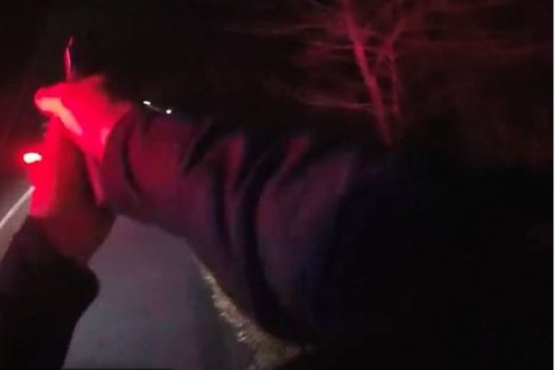 Body camera footage showed the Baltimore police officer shooting driver Eric Sopp 2