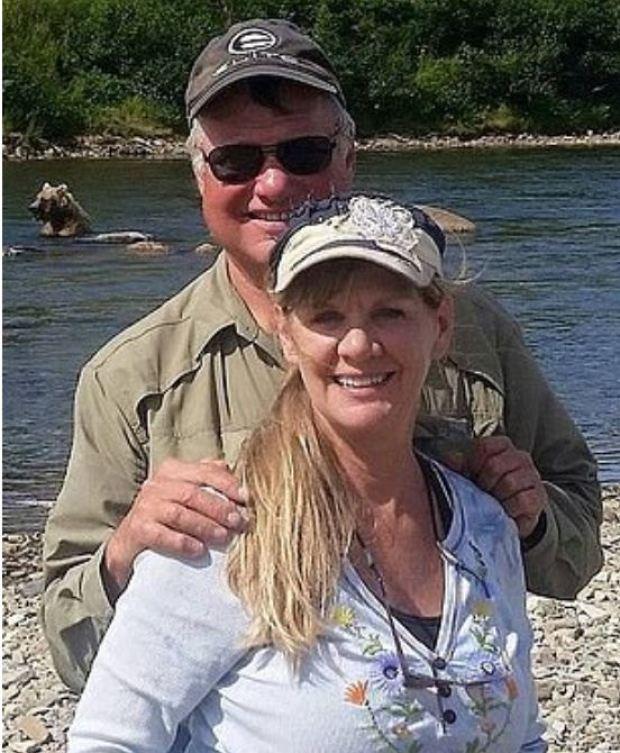 Laurcene 'Lori' Isenberg [left],and [right] with husband, Larry Isenberg 3