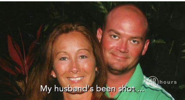 Sandra Garner (left) and her husband, Jon Garner (right), 1