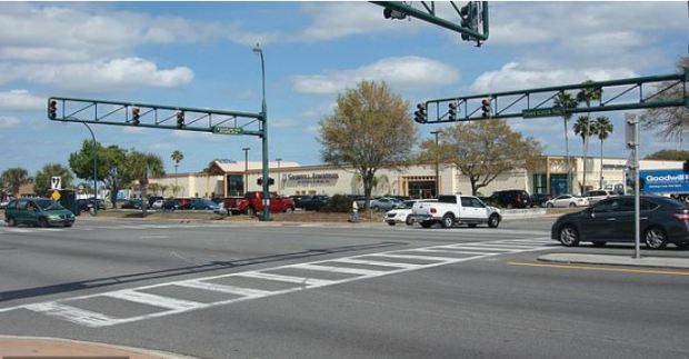 Orlando Florida intersecction where Chris Johnson was shot in 2015